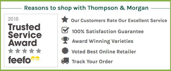Reasons to shop with Thompson & Morgan